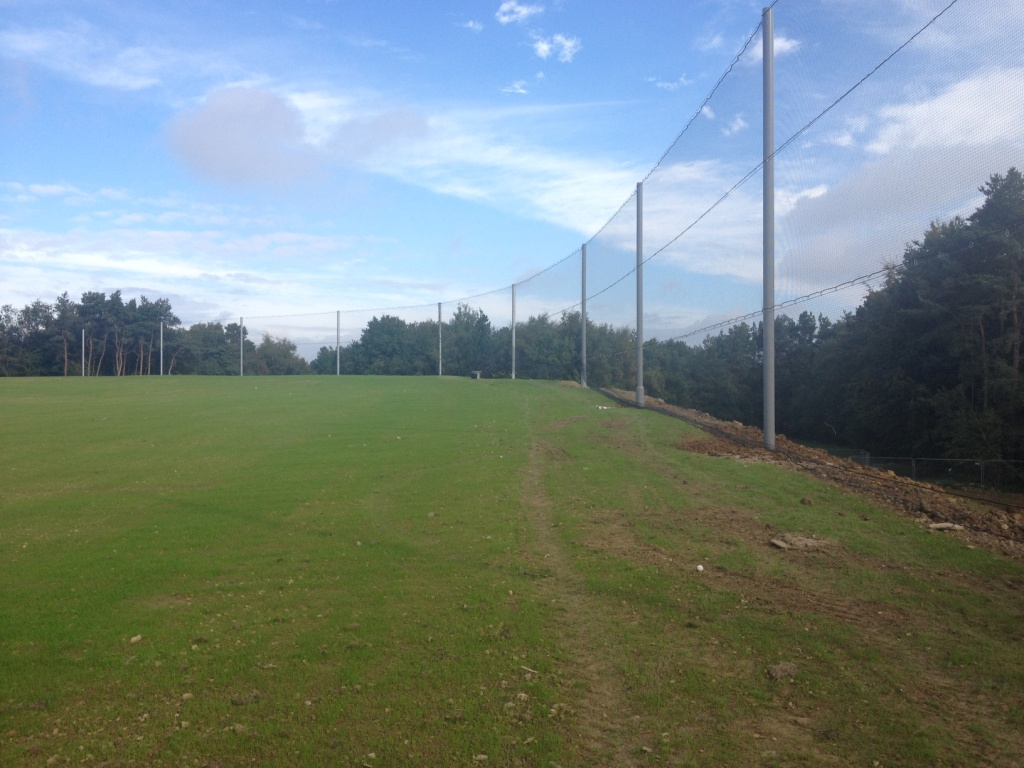 Golf range fencing Gallery Image