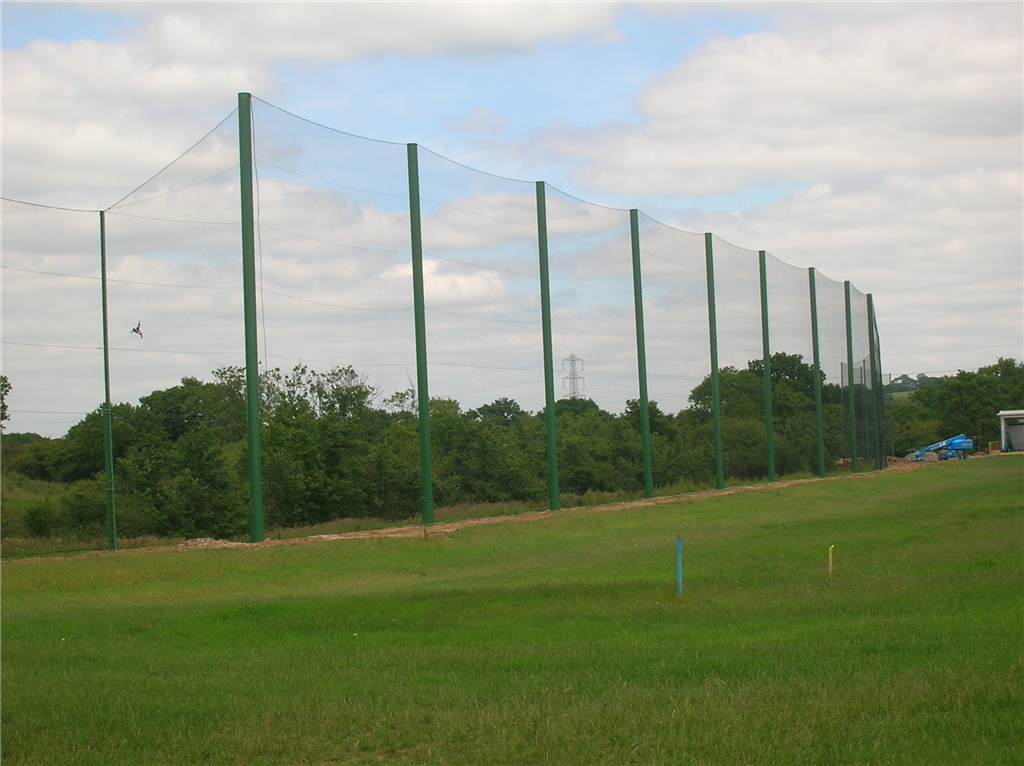 15m high netted fencing Gallery Image