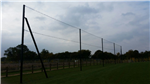 6m high netted football fence Gallery Thumbnail