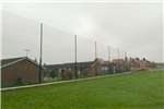 10m high cricket netted fence Gallery Thumbnail