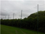 6m high fully demountable fencing Gallery Thumbnail