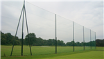 12m high netted golf fence Gallery Thumbnail