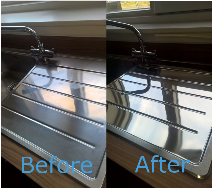 Metal Polishing - Before and After Gallery Image