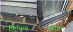 Door Sill Hard Surface Repair - Before and After Gallery Thumbnail