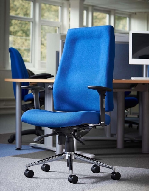 Task seating is widely recognised as one of the most important items within the modern office environment and can have significant staff wellbeing benefits. Gallery Image