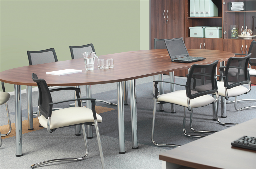 The boardroom is an area of your business for setting strategy and regular meetings. File Masters have a wide range of executive boardroom furniture to create the right environment and look for your business. Gallery Image