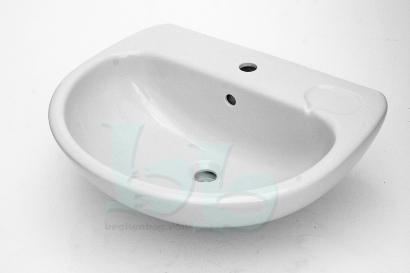 Ideal Standard Studio washbasin 1TH Whisper Grey - many other colours and styles available Gallery Image