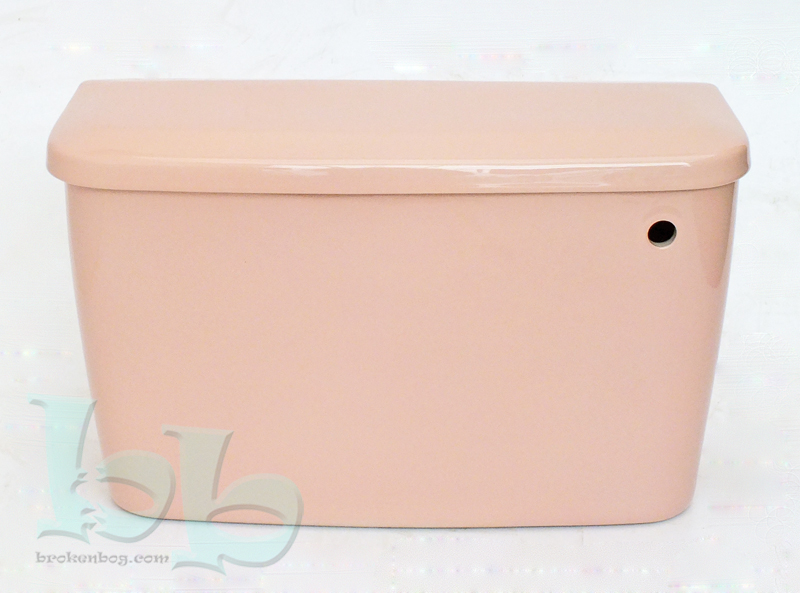 Coral Pink cistern available as side or bottom inlet for close-coupled or low-level installation Gallery Image
