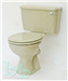 Close-coupled toilet suite in Pampas Gallery Thumbnail