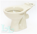 Close-coupled toilet pan in Indian Ivory - many more colours and styles available Gallery Thumbnail