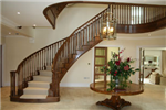 Walnut Curved Stairs Gallery Thumbnail
