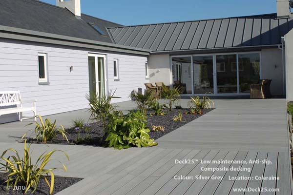 Composite Decking - Deck25 - Grey - N. Ireland Gallery Image