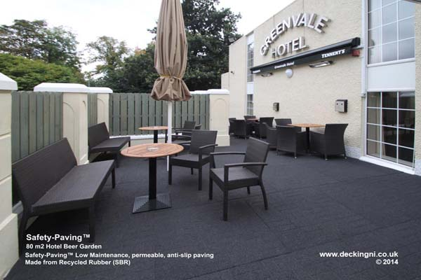 Anti Slip - Safety-Paving - Grey - Greenvale - Hotel Gallery Image