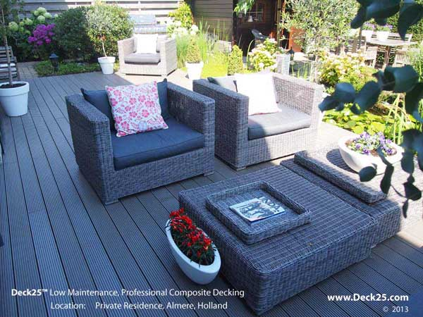 Composite Decking - Grey - Design Gallery Image