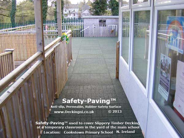 Anti Slip Safety Paving Primary School Permeable Gallery Image