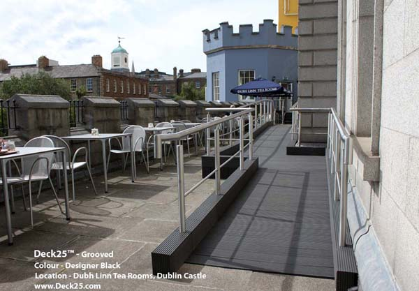 Composite Decking - Deck25 - Dublin Castle - Black Gallery Image