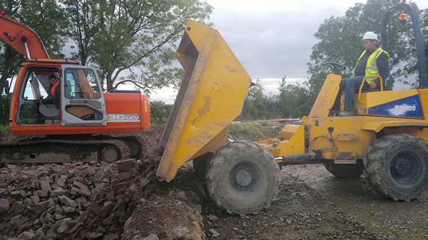 CPCS A09 Forward Tipping Dumper Training and Assessment Gallery Image