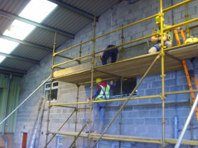 House Builders Scaffold Training Gallery Image