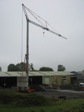 CPCS A63 Pedestrian Operated Tower Crane Training and Assessment Gallery Image