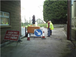 Streetworks Unit 2 Sign Lighting and Guarding Gallery Thumbnail