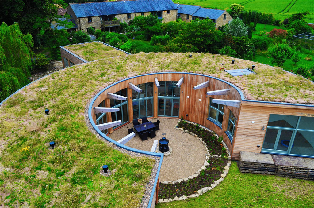 As seen on Grand designs on Channel 4. Our Optigreen Green roof at Deanshanger was nomited in the NFRC awards in 2014.  Gallery Image