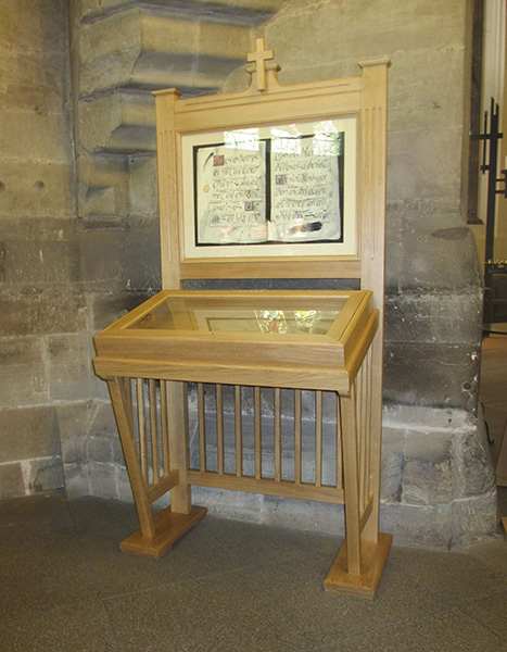 Lecturn in St Mary's Church, Kidderminster Gallery Image