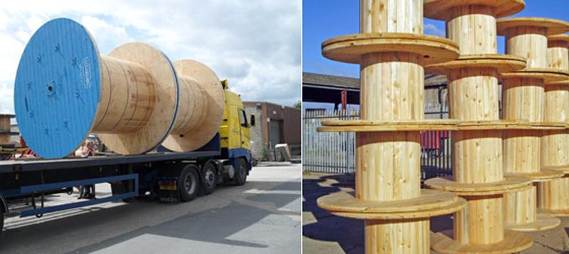 Askern Uk Ltd Doncaster Wooden Cable Drums Nationwide