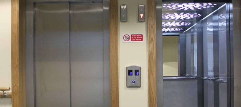 Caltech lifts ltd dundee lift engineers scotland for Domus building cleaning company