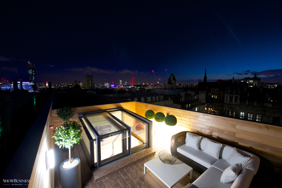 Box rooflights specified in high spec residential development Gallery Image