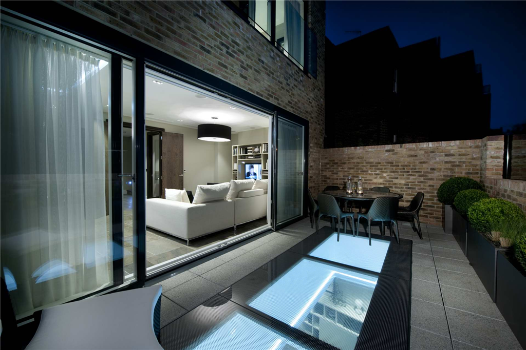 Glazing Vision's walk on rooflight can also be used on roof terraces without sacrificing usable space  Gallery Image