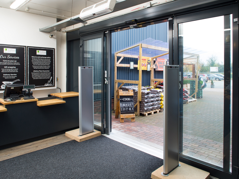 Dura-Glide Automatic Sliding Door Gallery Image
