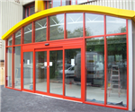 Stanley Dura-Glide Automatic Door and Axis Aluminium Shopfront Gallery Thumbnail