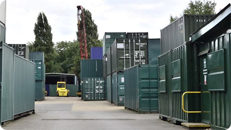 Upminster Containers Depot in Upminster, Essex. Gallery Image