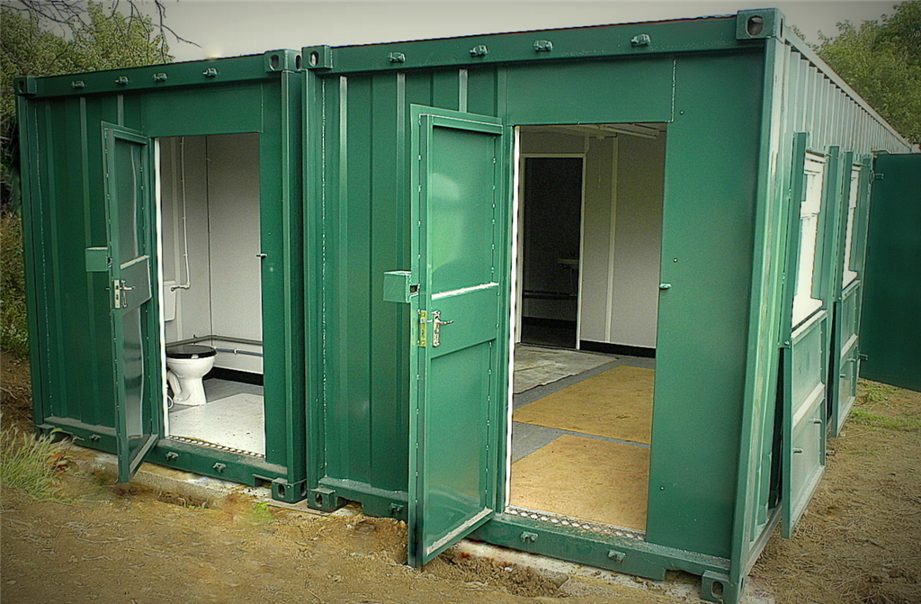 Container Conversion of Changing Facilities. Gallery Image