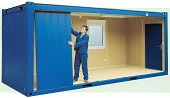 Building a 20' flat-pack Container Office. Gallery Image