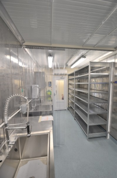 Container Conversion of Laboratory. Gallery Image