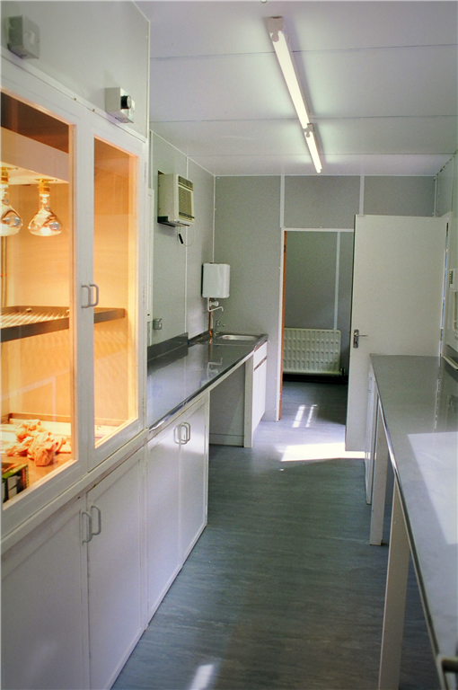 Container Conversion - inside laboratory. Gallery Image