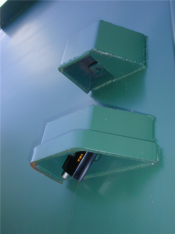 Additional Lock Boxes can be provided for extra security. Gallery Image