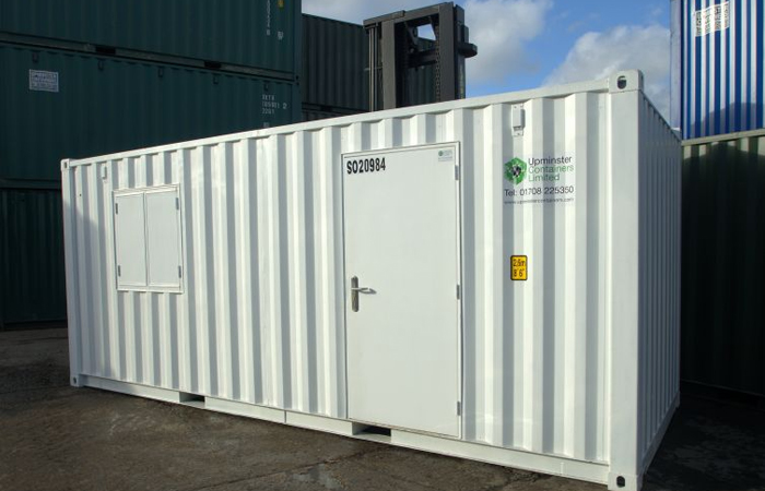 Modified Container Office for Site Hire. Gallery Image