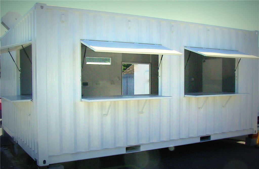 Container Conversion of Mobile Kitchen/Canteen Refreshment Outlet Gallery Image
