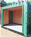 Container Conversion of Newspaper Kiosk with Roller Shutter Door. Gallery Thumbnail