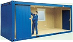 Building a 20' flat-pack Container Office. Gallery Thumbnail
