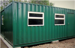 Container Conversion - containers joined together for Golf Club House. Gallery Thumbnail