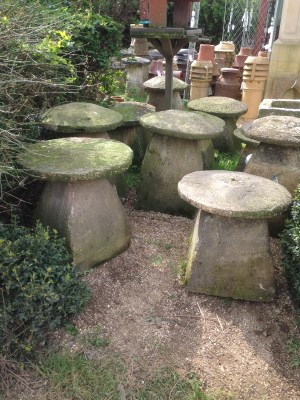 A selection of our many staddle stones. Gallery Image