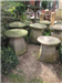 A selection of our many staddle stones. Gallery Thumbnail