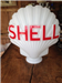 "A glass ""Shell"" petrol globe for £200 + vat Gallery Thumbnail"