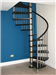 Bespoke Ash Timber Spiral with vertical steel spindle balustrade  Gallery Thumbnail