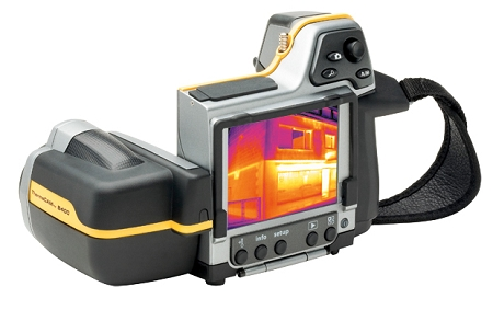 A Flir B400 Thermal Image Camera, One of many thermal imaging cameras Geo Therm Ltd Use. Gallery Image