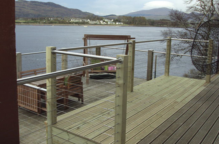 Stainless Steel Wire Rope Railing System Gallery Image
