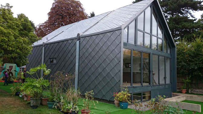 Amphibious House as featured on Grand Designs  Gallery Image